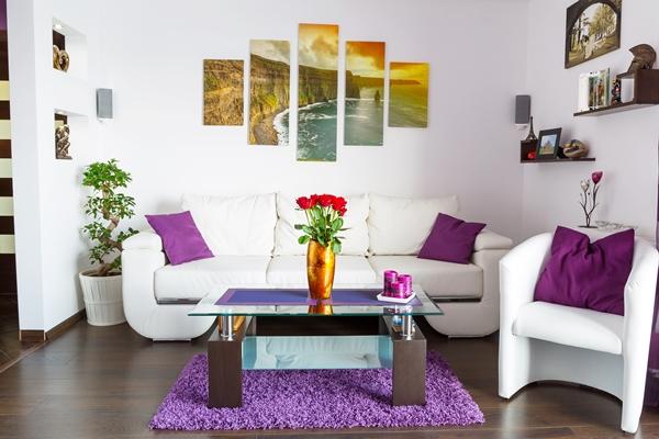 living area in a condo